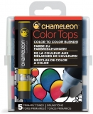 Set markere 5 culori Color Tops Primary Chameleon