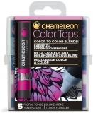 Set markere 5 culori Color Tops Floral Chameleon