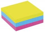 Cub de hartie 9 x 9 cm simplu color mixt