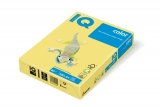 Carton IQ color pastel A4 yellow 160 g/mp, 250 coli/top