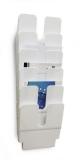 Tavita verticala Flexiplus format A4 portret alb, 6 buc/set Durable