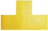 Marcaj autoadeziv pentru podea forma T 100 x 150 mm galben 10 buc/set Durable