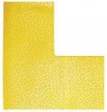 Marcaj autoadeziv pentru podea forma L 100 x 150 mm galben 10 buc/set Durable