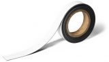 Banda magnetica pentru etichetare 30 mm, 5 m alb Durable