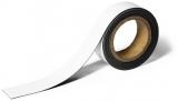Banda magnetica pentru etichetare 40 mm, 5 m alb Durable