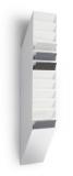 Tavita verticala Flexiboxx format A4 portret alb, 12 buc/set Durable