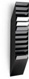 Tavita verticala Flexiboxx format A4 portret negru, 12 buc/set Durable
