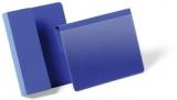 Buzunar magnetic plus A5 landscape 210 x 148 mm albastru 50 buc/set Durable