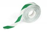 Banda autoadeziva pentru marcat locatii Duraline Strong 50 mm x 30 m alb-verde Durable