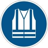Marcaj autoadeziv pentru podea Utilizati vesta de protectie Durable