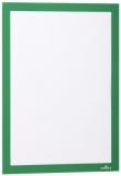 Rama magnetica autoadeziva Duraframe, A4, verde, 2 buc/set Durable