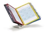 Sistem de prezentare Vario Pro 10, pentru birou,10 display-uri A4 Durable
