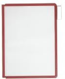 Rezerve sistem de prezentare Sherpa A4 rosu 5 buc/set Durable