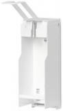 Suport pentru dispenser dezinfectant, montare pe perete, alb Durable