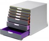 Cutie organizare Varicolor cu 7 sertare Durable