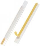 Banda autoadeziva pentru scanare etichete Scanfix, transparenta, 200 x 20 mm, 5 buc/set Durable
