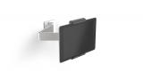 Suport tableta, cu brat extensibil, pentru perete, 7-13 inch, argintiu Durable