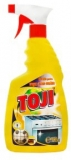 Solutie spray aragaz, cu pompa, 750 ml, Toji