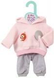 Dolly Moda - Set Bluza Roz Si Pantaloni 36 Cm Zapf