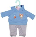 Dolly Moda - Set Bluza Bleu Si Pantaloni 36 Cm Zapf