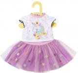 Dolly Moda - Tricou Si Fusta Tutu 43 Cm Zapf