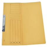 Dosar incopciat din carton 1/2 galben tip L