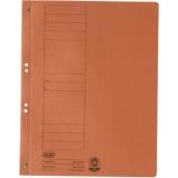 Dosar carton color, portocaliu, cu capse, coperta 1/1 Elba