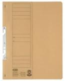 Dosar carton color, galben, pentru incopciat, coperta 1/2 Elba