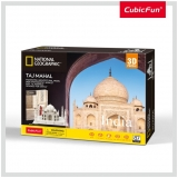 Puzzle 3D+Brosura-Taj Mahal 87 Piese Cubicfun