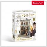 Puzzle 3D Harry Potter - Magazin Ollivanders 66 Piese Cubicfun