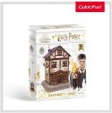 Puzzle 3D Harry Potter - Magazin Quality Quidditch 71 Piese Cubicfun