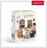 Puzzle 3D Harry Potter 4In1 - Aleea Diagon 273 Piese Cubicfun