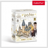 Puzzle 3D Harry Potter-Sala Principala 187 Piese Cubicfun