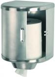 Dispenser rulou prosop, inox satinat, diametrul 250 mm, Mediclinics