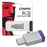 Memorie Stick USB 8 GB DT 50 Kingston