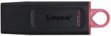Stick USB Data Traveler Exodia, 256 GB, USB 3.2 Gen 1, Negru/Roz, Kingston