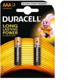 Baterie alcalina R3 (AAA), 2 buc/blister, Duracell
