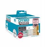 Eticheta in rola pentru Labelwriter 25 x 25 mm plastic alb 1700 buc/rola Dymo