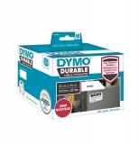 Eticheta in rola pentru Labelwriter 57 x 32 mm plastic alb 800 buc/rola Dymo