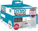 Eticheta in rola pentru Labelwriter 16 x 64 mm plastic alb 900 buc/rola Dymo