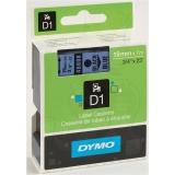 Banda D1 19 mm x 7 m, negru / albastru, Dymo