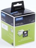 Eticheta 89 x 36 mm alba adresa mare pentru Label Writer Dymo