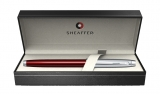 Roller Translucent Red & Brushed Chrome NT 100 Sheaffer