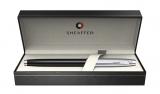 Stilou Glossy Black & Brushed Chrome NT 100 Sheaffer