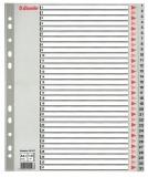 Index din plastic, A4, index 1-31, MAXI Esselte