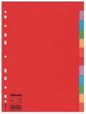 Separatoare din carton Economy 12 coli/set Esselte