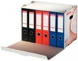 Container de arhivare pentru bibliorafturi Esselte