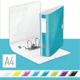 Biblioraft 180° Active WOW, polyfoam, A4, 82 mm, Leitz, turcoaz metalizat