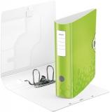 Biblioraft A4 82 mm 180° Active WOW Leitz verde metalizat