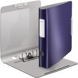 Biblioraft 180° Active Style, polyfoam, A4, 50 mm, albastru-violet, Leitz